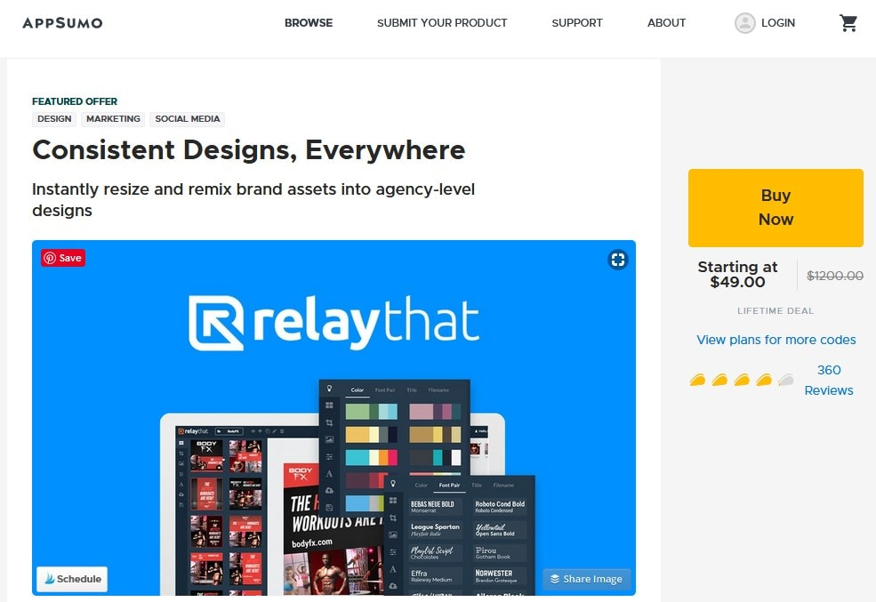 Relaythat Offer On Appsumo