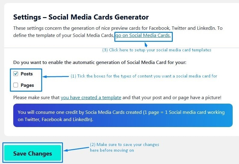 Image Seo Setting Up The Social Media Cards Generator