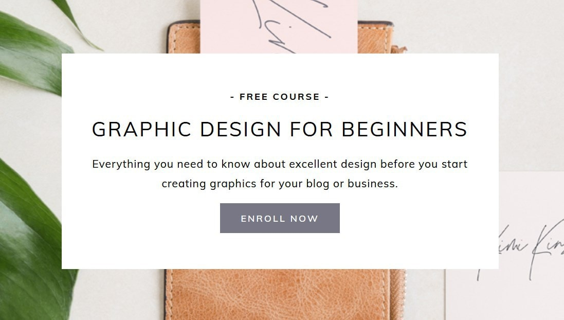 Kimi Kinsey Graphic Design For Beginners Free Course