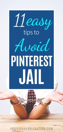 How To Avoid Getting A Pinterest Account Suspended + Help With What To Do If Your Blog Gets Blocked