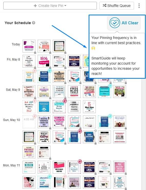 Using Tailwind Smartguide To Avoid Being Suspended On Pinterest For Spam 1