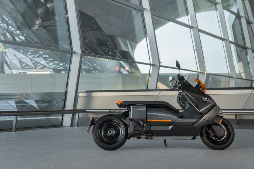 BMW Motorrad Finally Launches Its Cyberpunk CE 04 Electric Scooter!