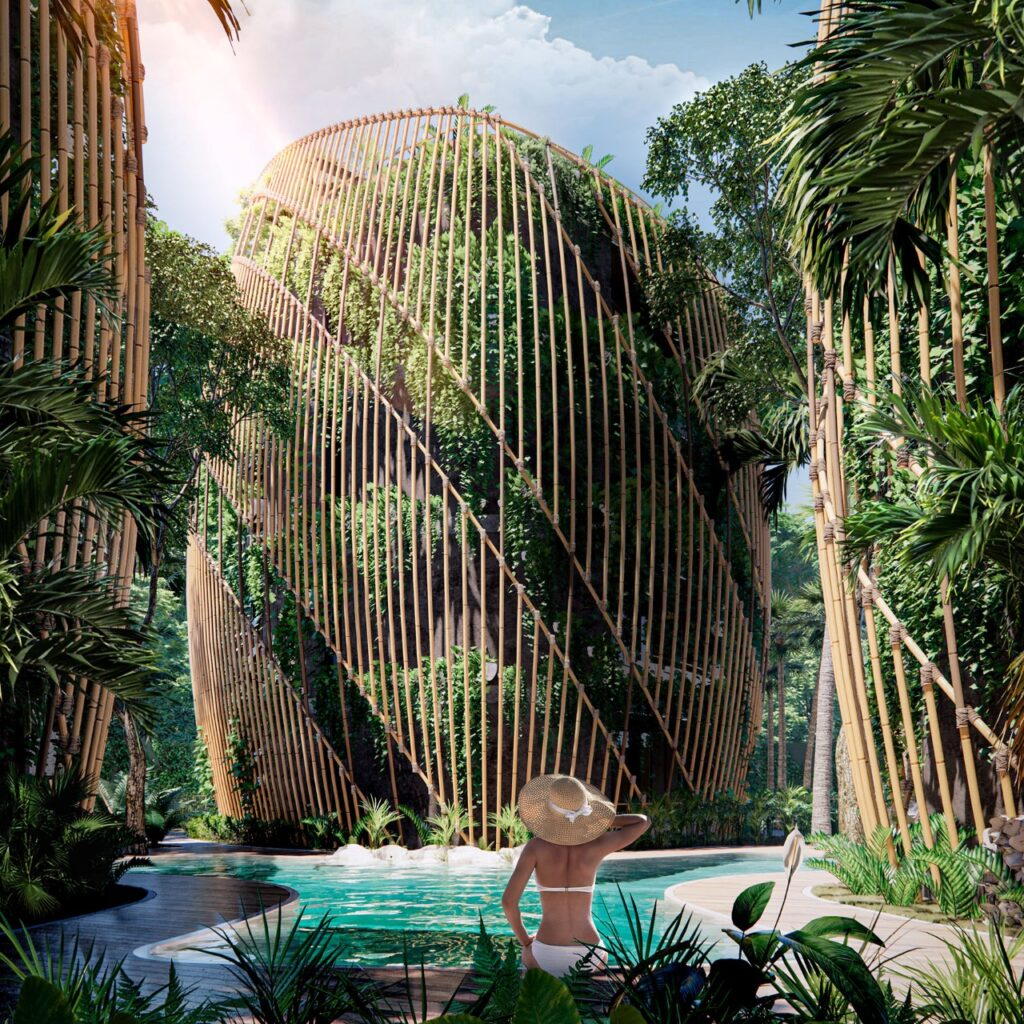 These Multi-Award-Winning Buildings In Mexico Are Covered In A Lush Vertical Forest
