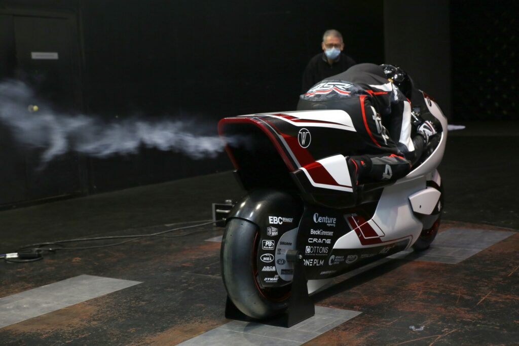 """WMC's """"World's Fastest Electric Motorcycle"""" Has A Massive Hole In It!"""