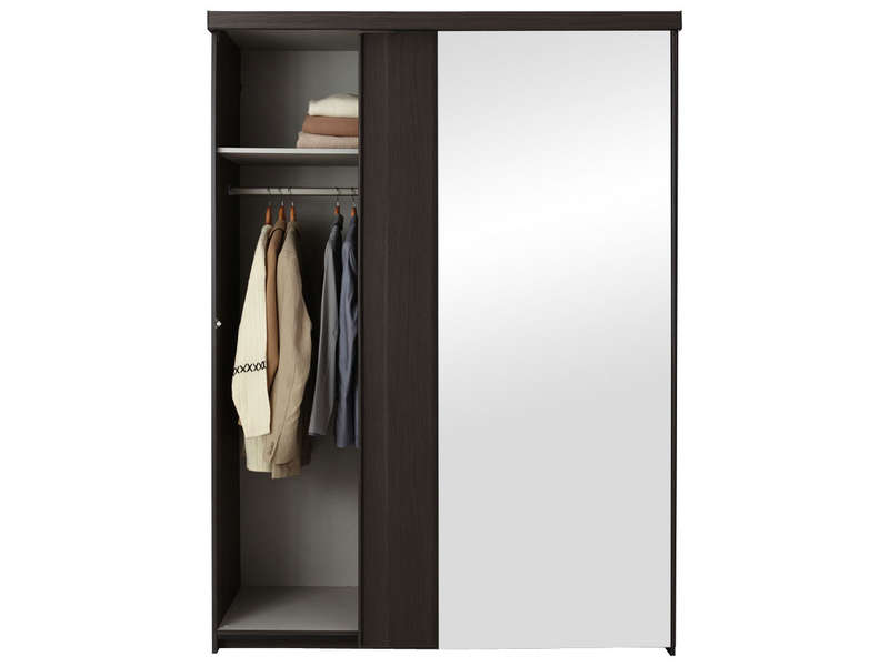 Armoire 2 Portes No Limit Coloris Frene Conforama