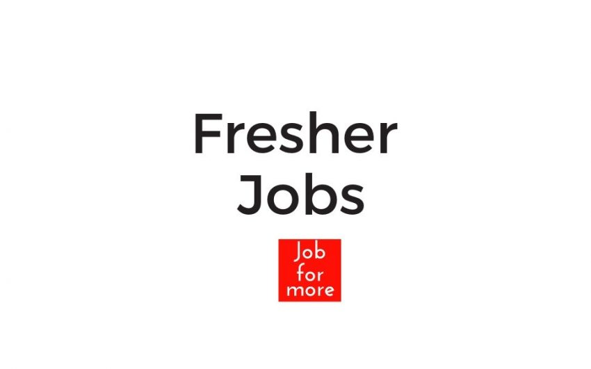 fresher jobs by jobformore