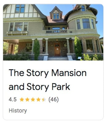 The Story Mansion and Story Park