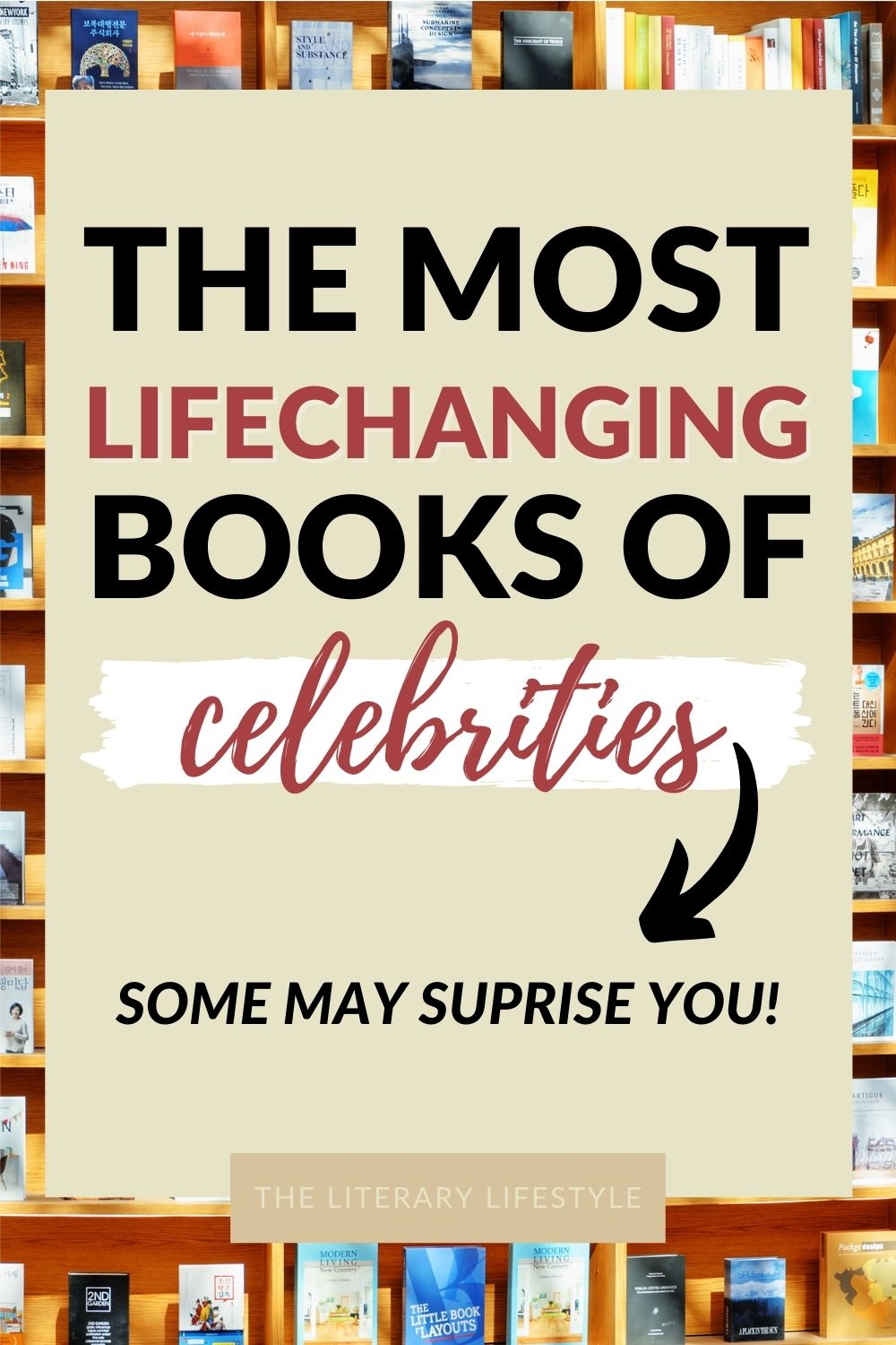 Most Lifechanging Books of Celebrities