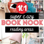 101+ Cozy Booknook Decor Ideas for Adults & Kids