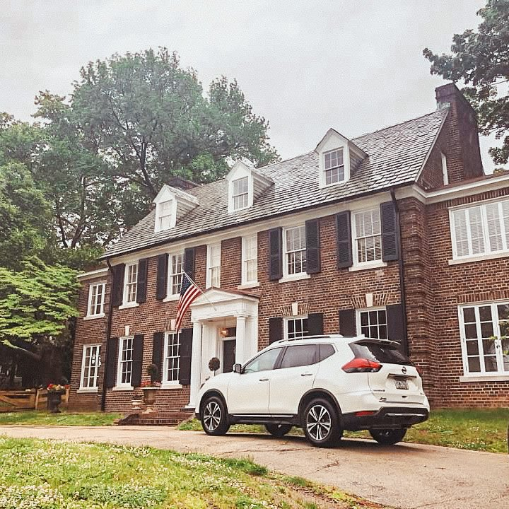 Grace Kelly's childhood house in the East Falls section of Philadelphia