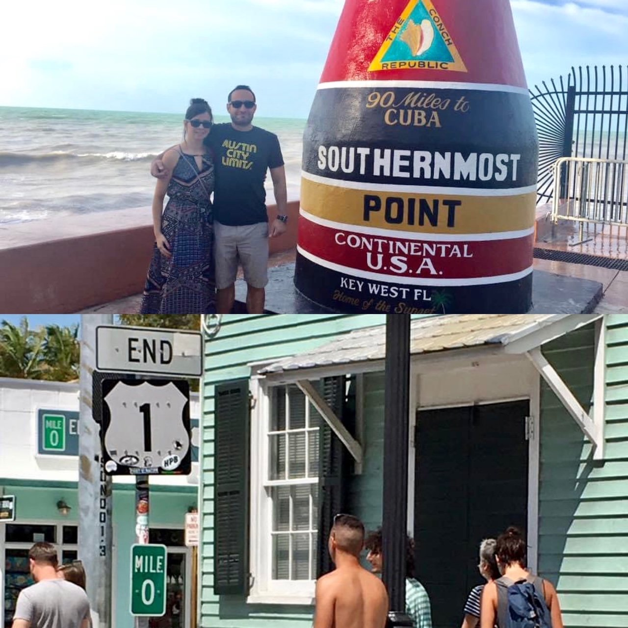 Southernmost Point and End of Route 1