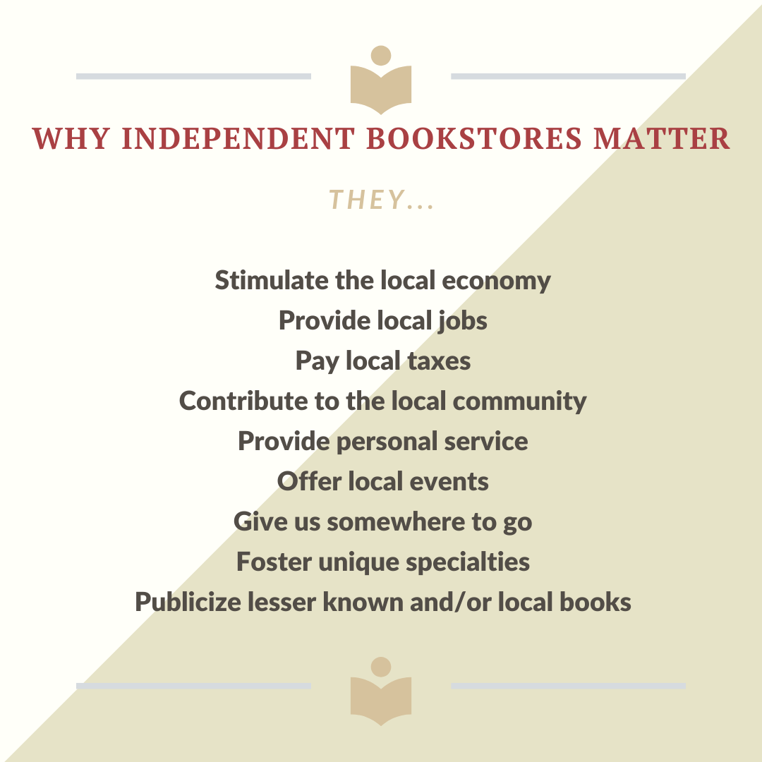 Why Independent Bookstores Matter