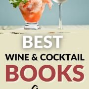 best wine and cocktail recipe books on Amazon