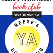 Reese Witherspoon Young Adult book club