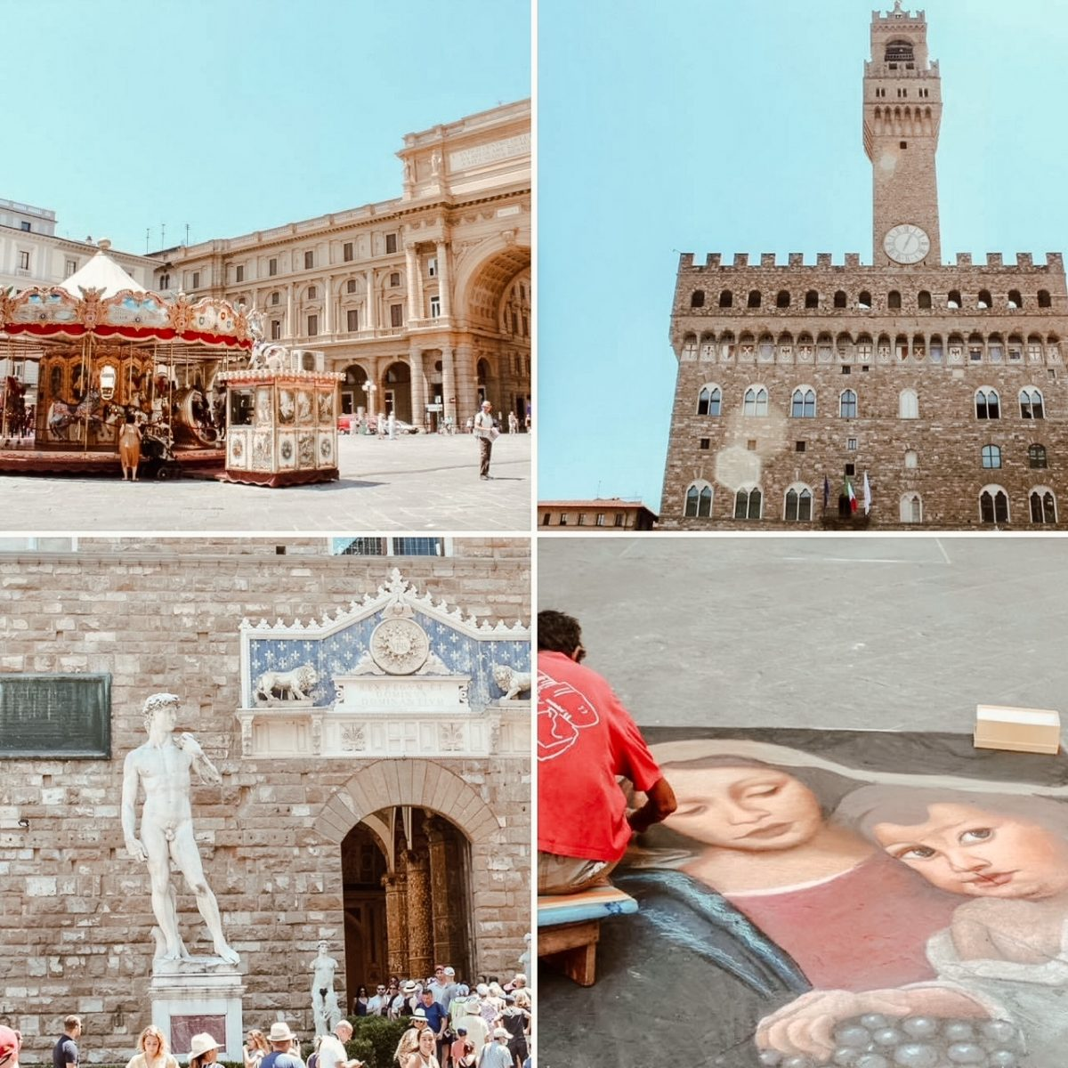 Sights of Florence, Italy