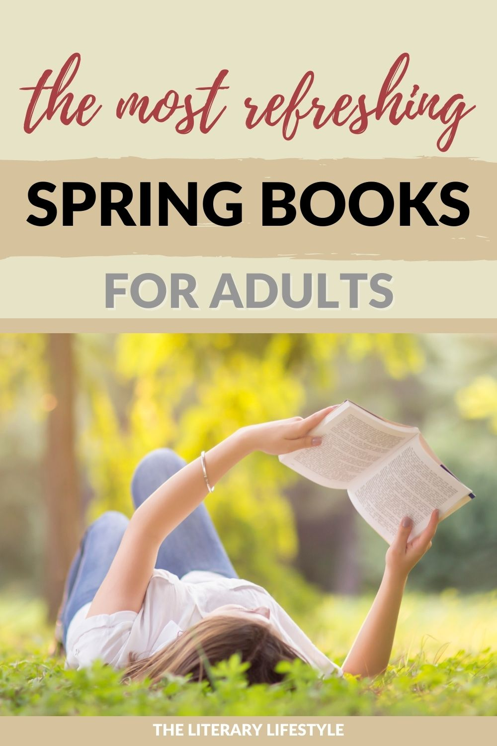 Best books for Spring for Adults