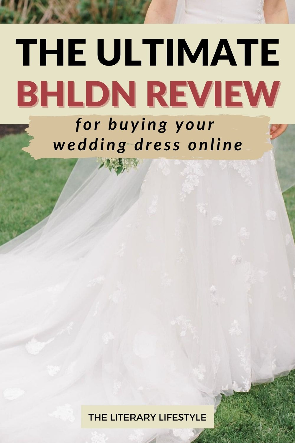 BHLDN review for buying a wedding dress online