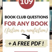 book club questions for fiction and non fiction
