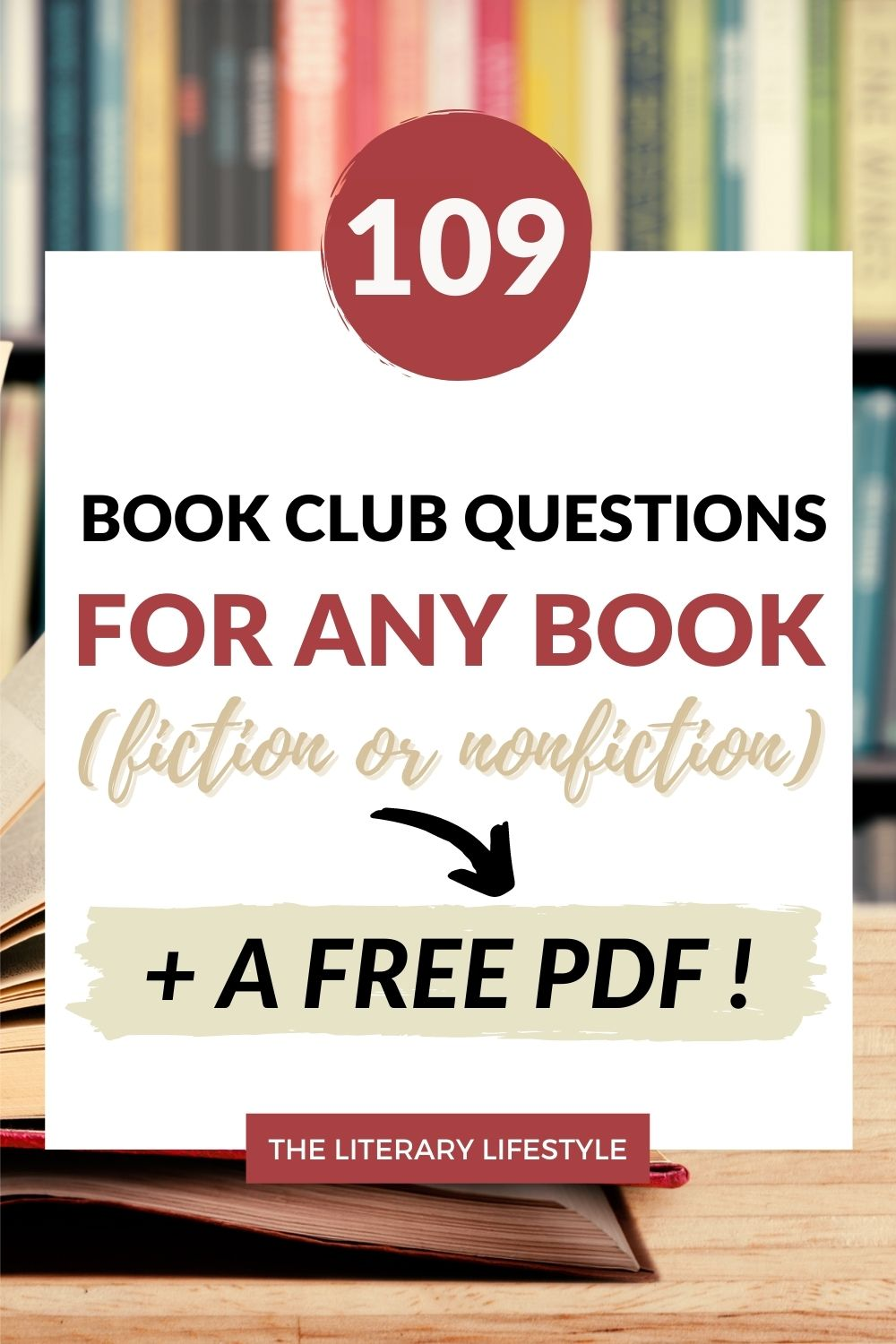 book club questions for fiction and nonfiction