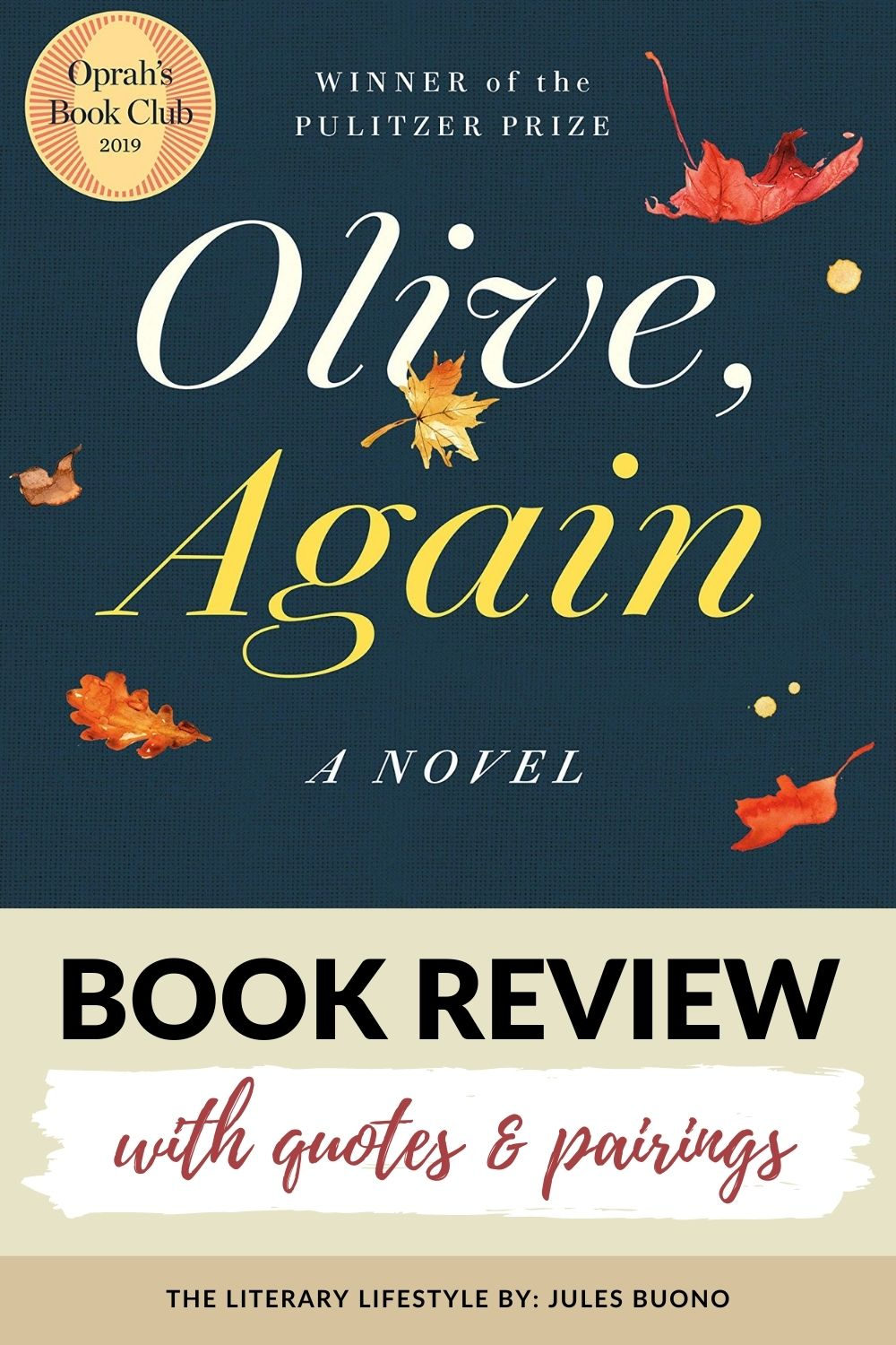 Book Review: Olive, Again