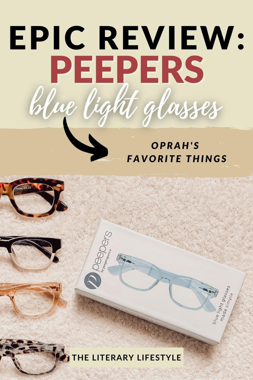 Review of Peepers Blue Light Glasses