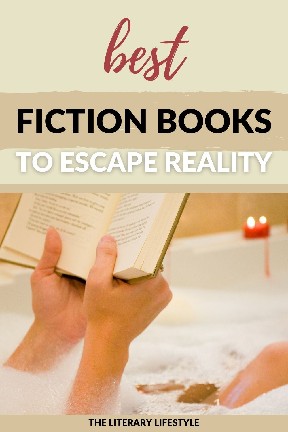 best fiction books to escape reality