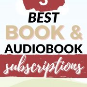 best book and audiobook subscriptions