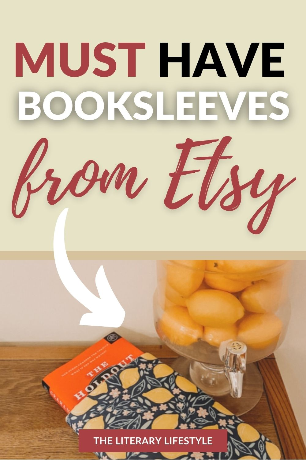 booksleeves from etsy