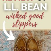 review of ll bean wicked good slippers