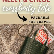 NEELY AND CHLOE PACKABLE CROSSBODY TOTE REVIEW