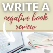 How to Write a Negative Book Review Online