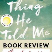 Review of The Last Thing He Told Me