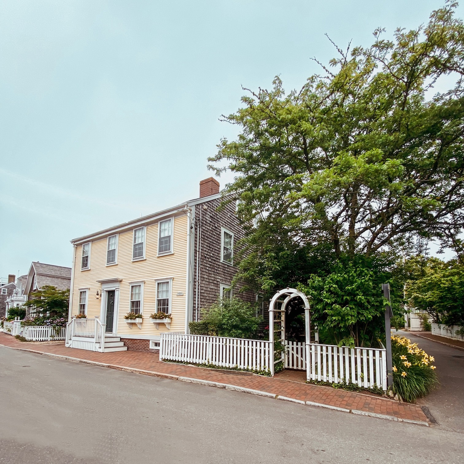 The Nantucket house on which Elin Hilderbrand's book Summer of '69 was based.
