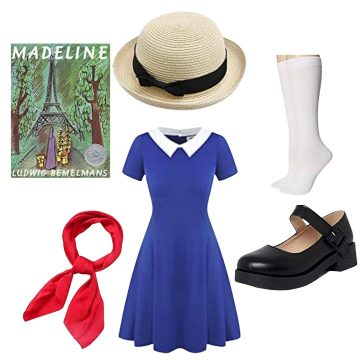 DIY MAdeline costume for adults