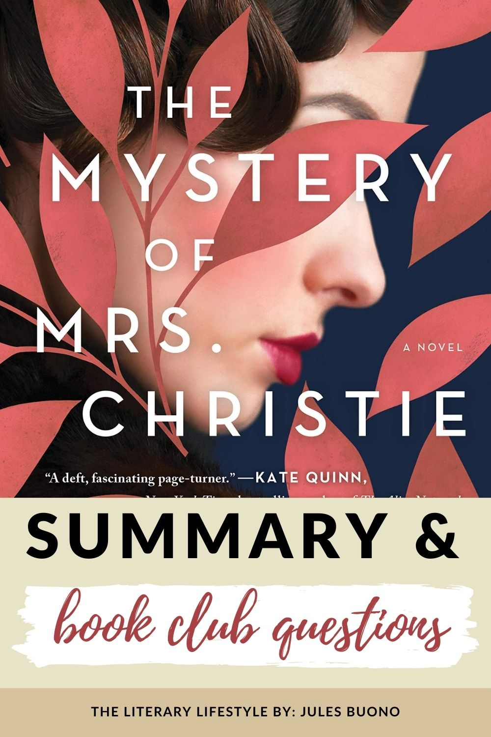 the mystery of mrs christie summary