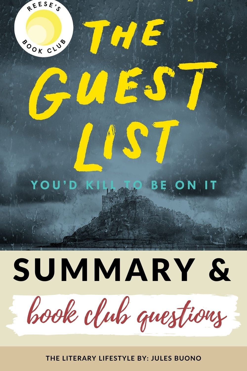 The Guest List book club questions and summary