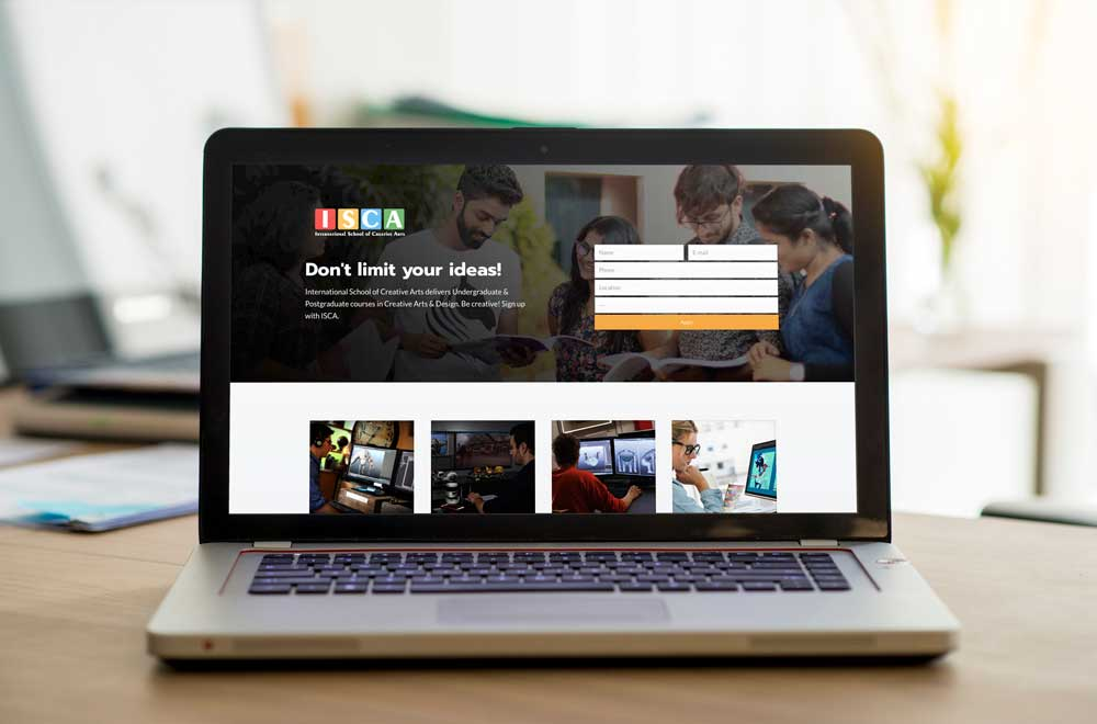 Indian School Of Commerce - Multiple Landing Pages 3