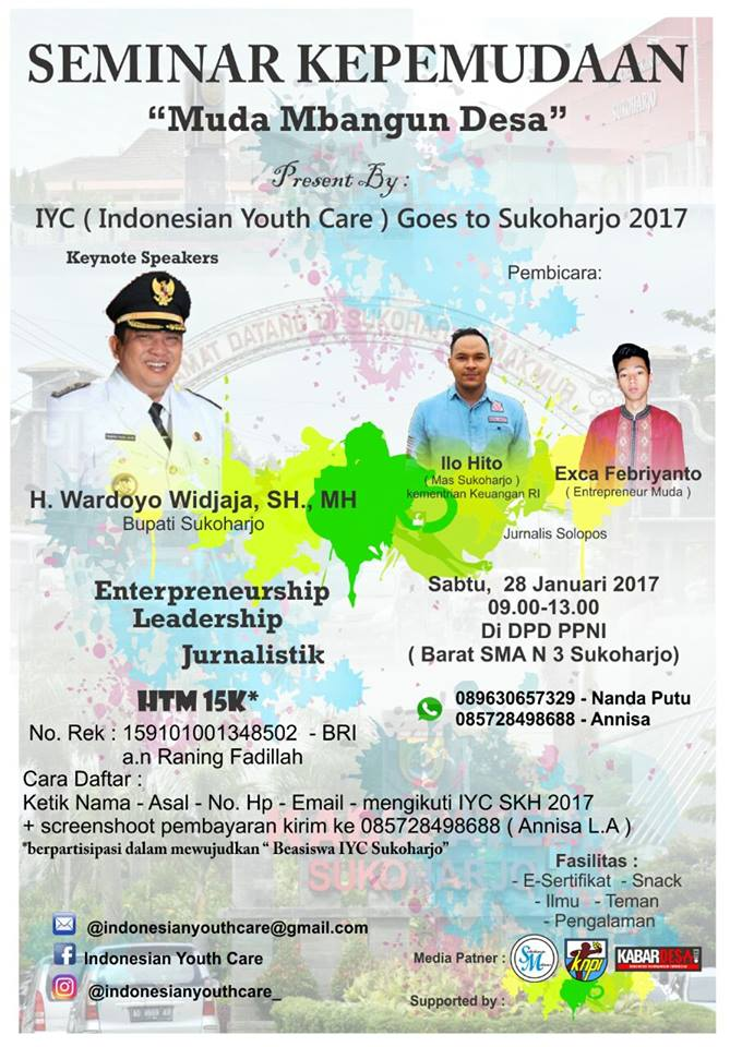 Indonesian Youth Care 2017