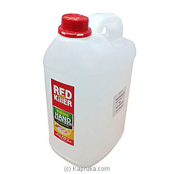 Buy 5l Red Germ Killer Instant Hand Sanitizer With Lemon Oil Price