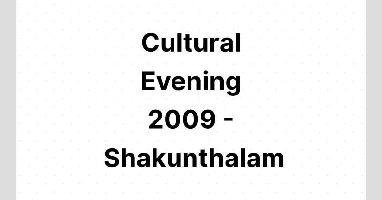 cultural-evening-2009-shakunthalam