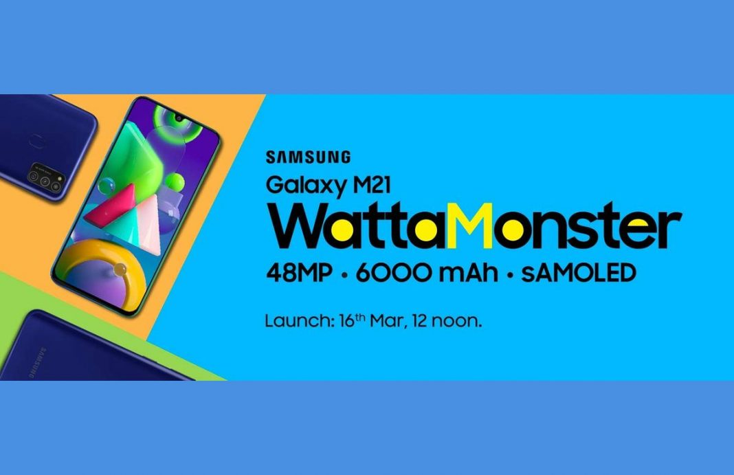 samsung galaxy m21 launch date