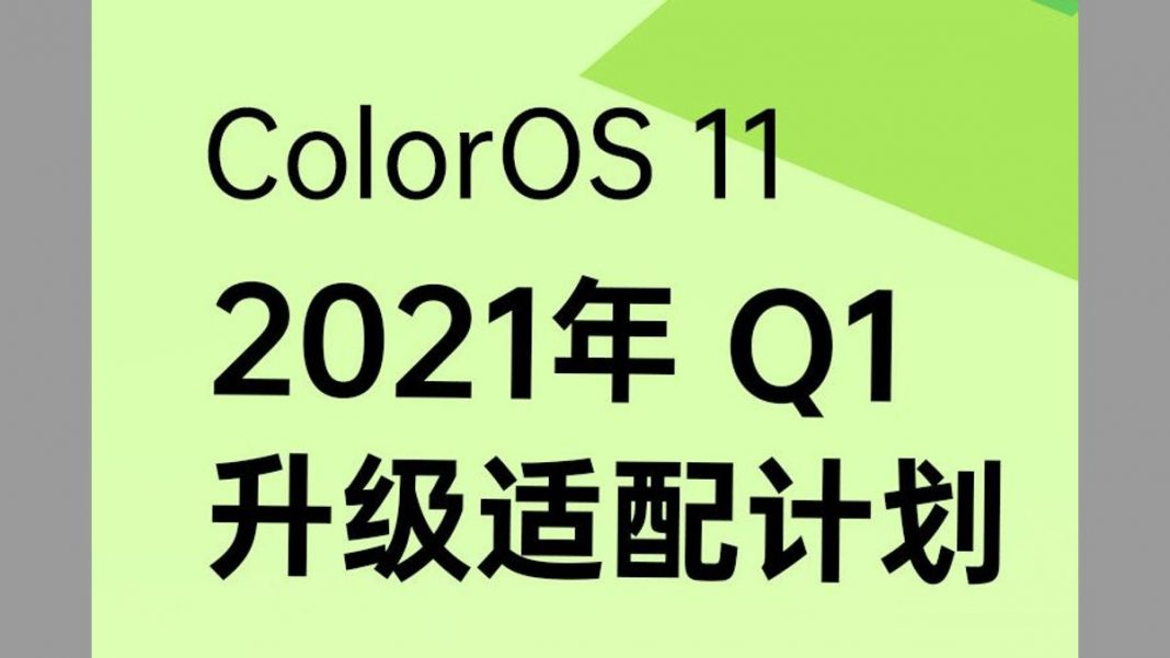 Update Oppo ColorOS 11