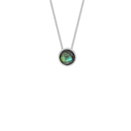 Faceted Paua Necklace_0