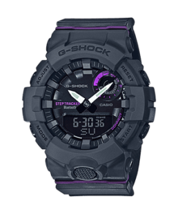 G-SHOCKv S-Series, step tracker-bluetooth. black face and strap_0