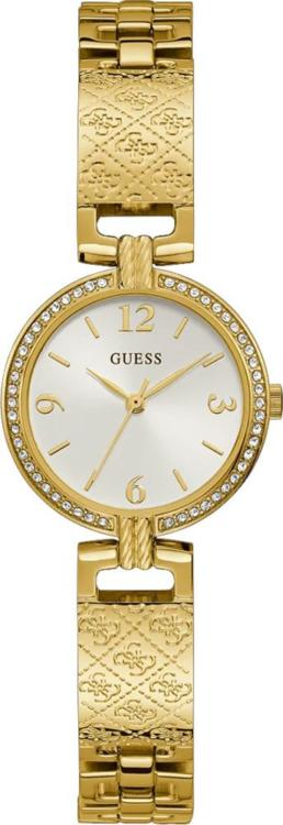 Guess Mini Luxe IPS Logo Gold Ladies Analogue With Bracelet Strap_0