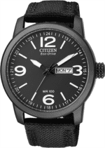 Citizen Gents Eco-Drive Black And White Face Analogue_0