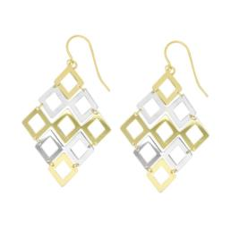 9ct and Silver Bonded earrings_0