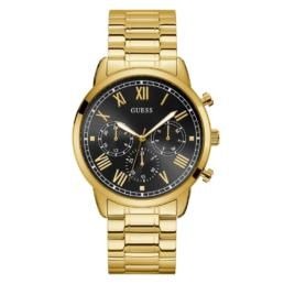 Guess Gents Hendrix Gold & Black Chronograph Watch_0
