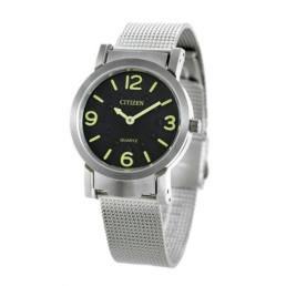 Silver Analogue Watch with Mesh strap for Visually Impaired._0