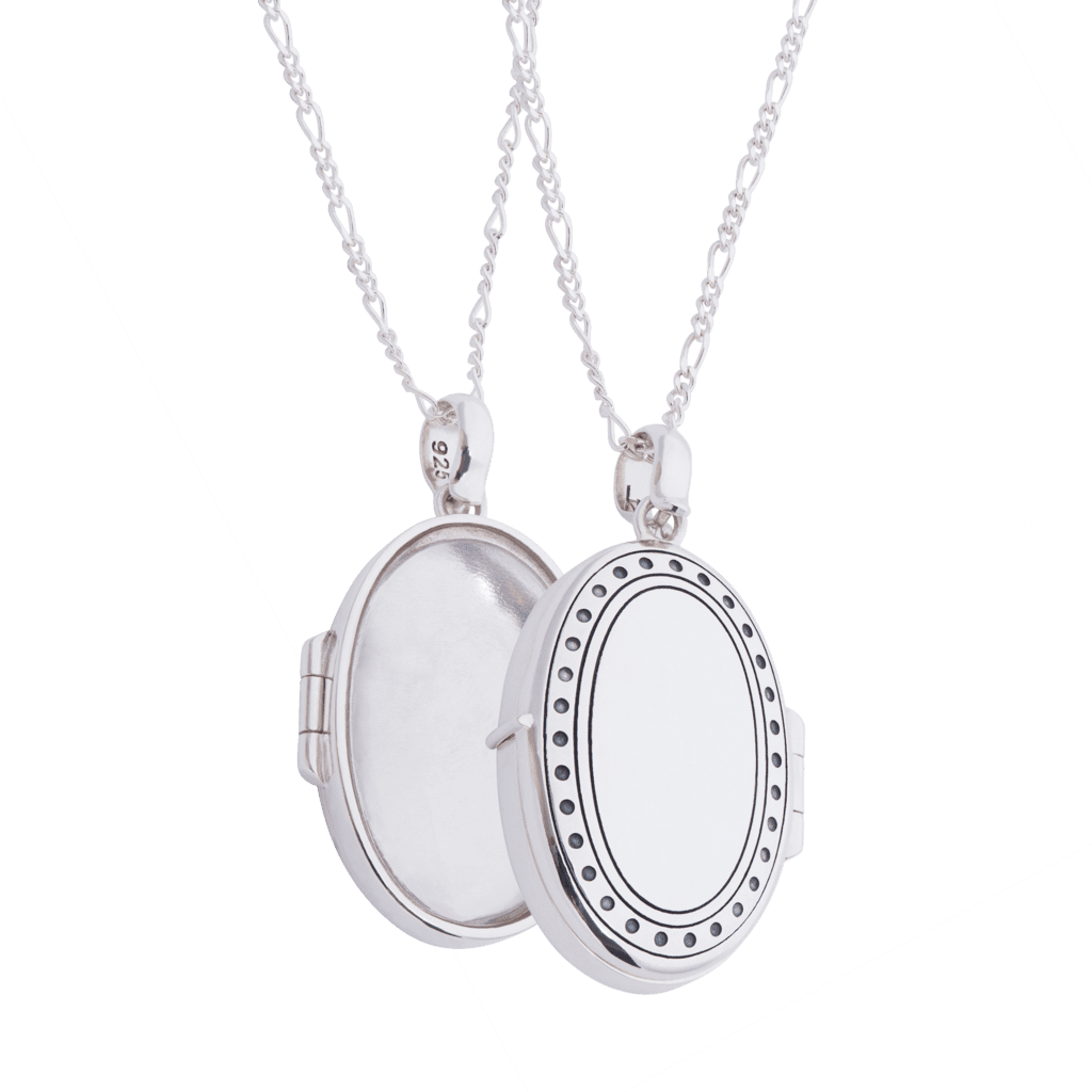 Silver Locket And Chain_0